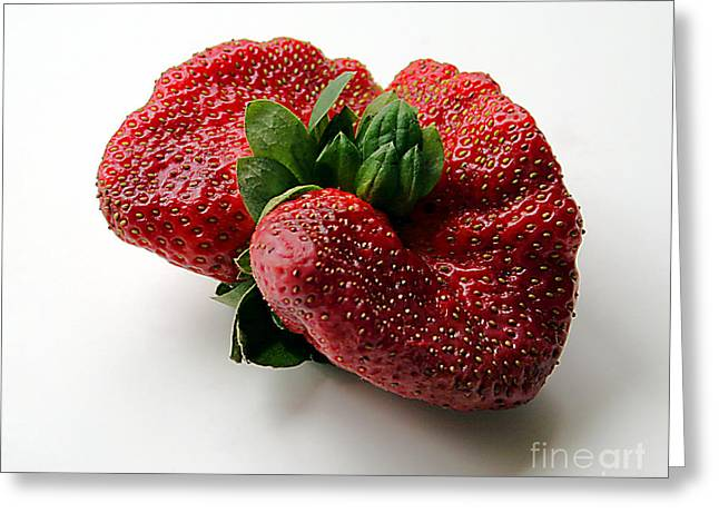 Tina's Strawberry Greeting Card