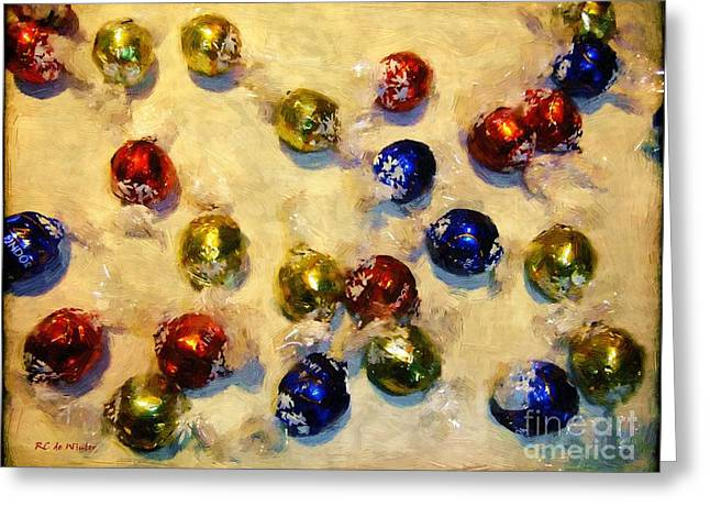 Tinfoiled Truffles Greeting Card by RC deWinter