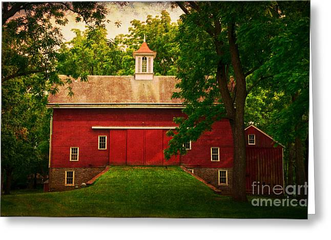 Tinicum Barn In Summer Greeting Card