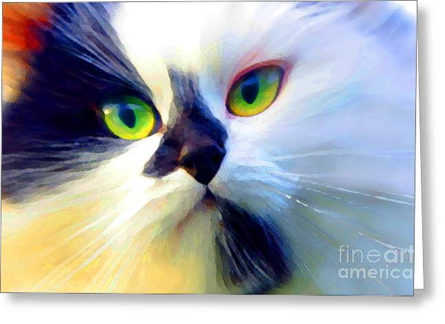 Tinker Greeting Card by Adria Trail