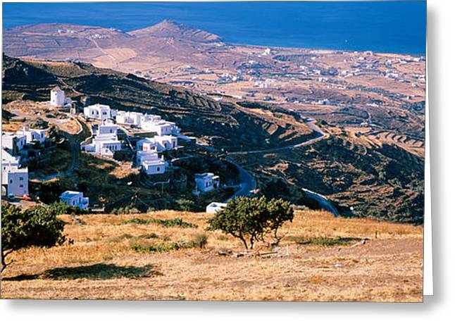 Tinos, Greece Greeting Card by Panoramic Images