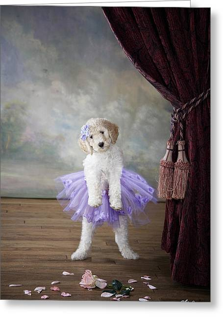 Tiny Dancer Greeting Card by Lisa Jane