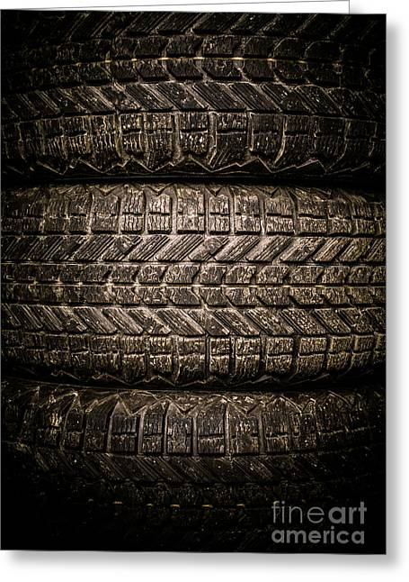 Tires Greeting Card