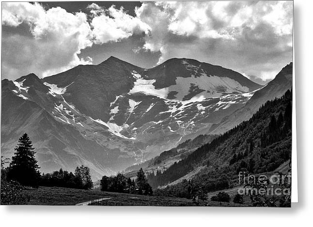 Greeting Card featuring the photograph Tirol  The Land Of Enchantment by Gerlinde Keating - Galleria GK Keating Associates Inc