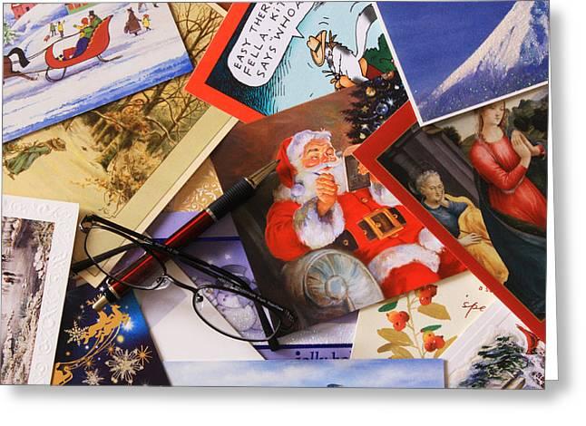 Tis The Season Greeting Card by Joe Kozlowski