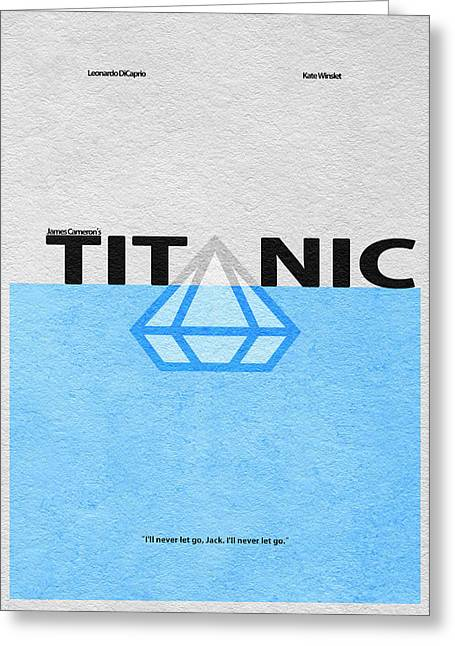 Titanic Greeting Card by Ayse Deniz