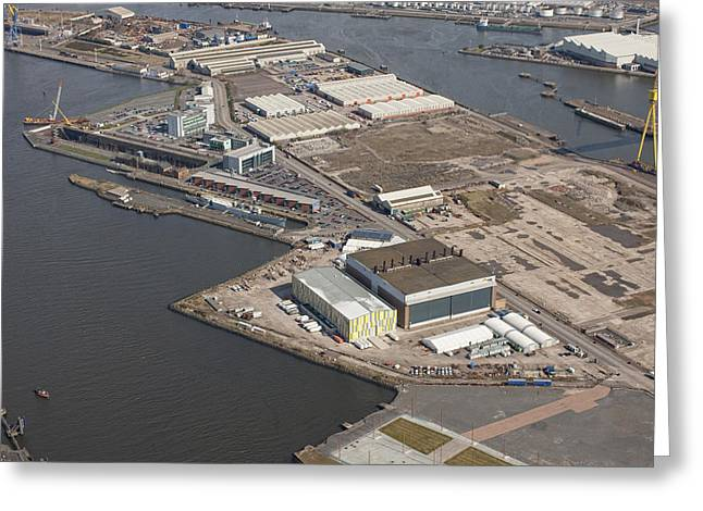 Titanic Quarter, Belfast Greeting Card by Colin Bailie