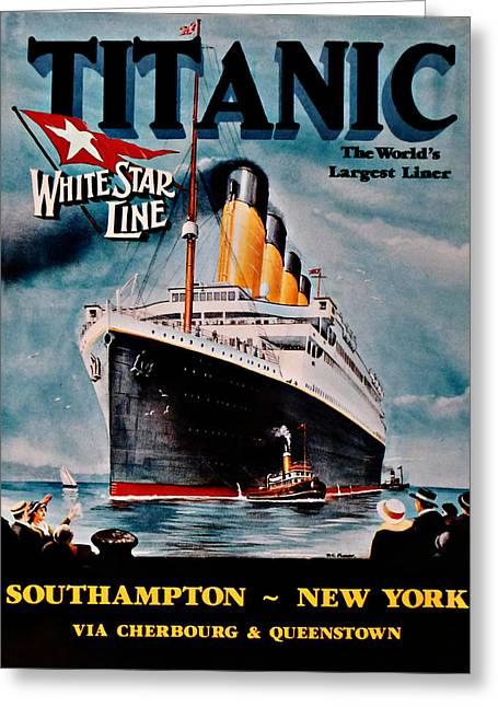 Titanic - Unthinkable Greeting Card