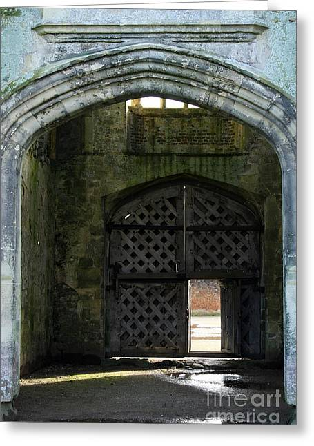 Titchfield Abbey Gatehouse Greeting Card by Terri Waters