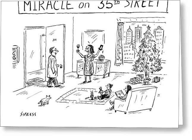 Title: Miracle On 35th Street. A Family Greeting Card