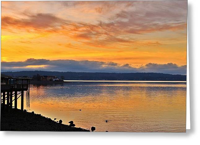 Greeting Card featuring the photograph Titlow Beach by Lynn Hopwood