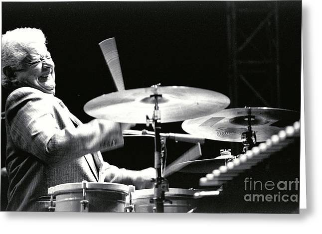 Tito Puente-1 Greeting Card by Gary Gingrich Galleries