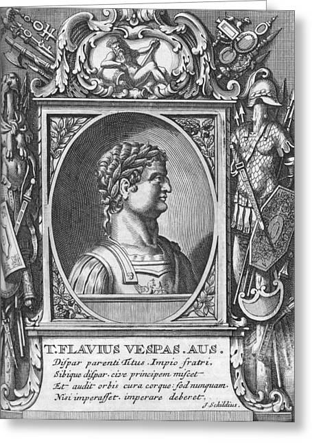 Titus, Roman Emperor Greeting Card