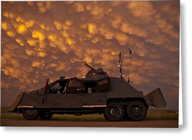 Tiv2 And Mammatus  Greeting Card by Brandon  Ivey