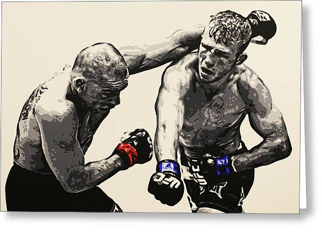 Tj Dillashaw Vs. Barao Greeting Card