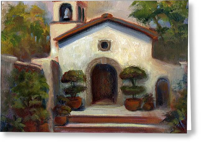 Tlaquepaque Chapel In Sedona Greeting Card by Judy Downs