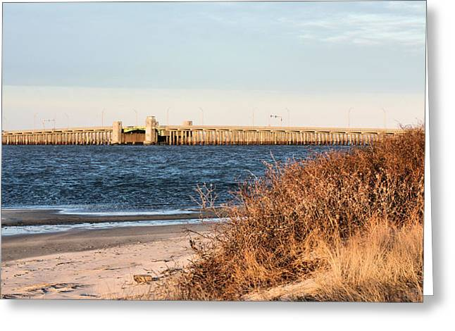 To Jones Beach Greeting Card by JC Findley