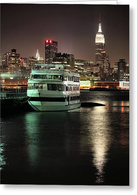To Nyc Greeting Card by JC Findley