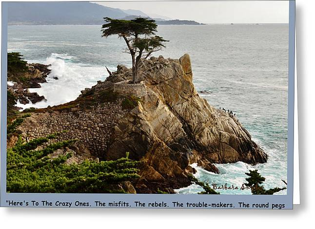 To The Crazy Ones Greeting Card