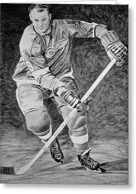 To You Is Mr. Hockey  Greeting Card