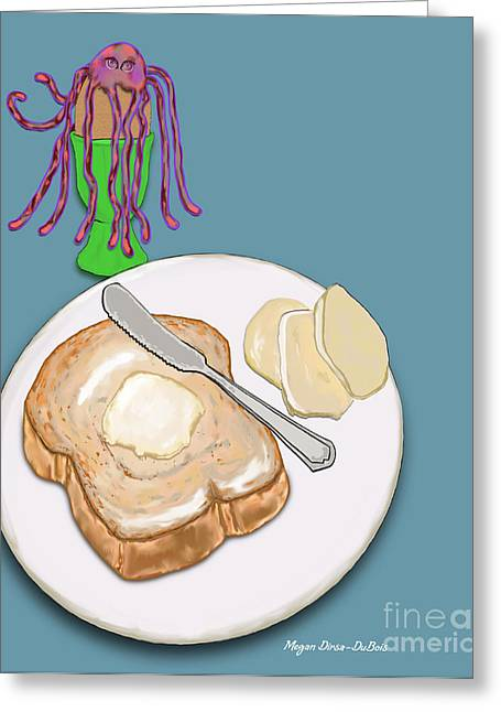 Toast And Jelly Greeting Card