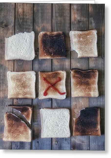 Toast Greeting Card by Joana Kruse