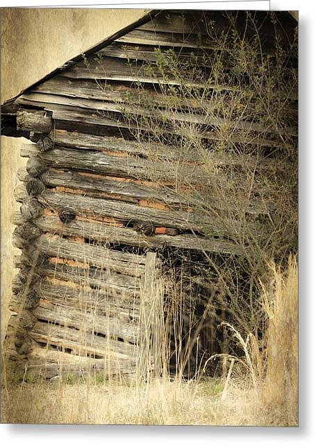 Tobacco Barn Greeting Card
