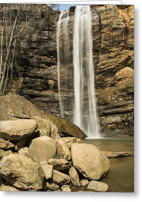 Toccoa Falls Greeting Card by Penny Lisowski