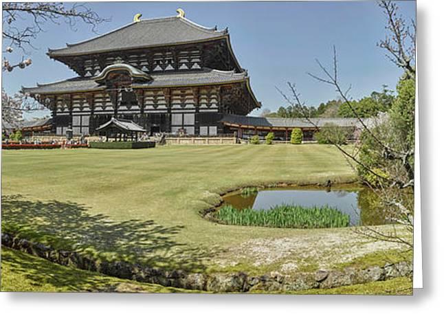 Todai-ji Temple, Nara, Nara Prefecture Greeting Card