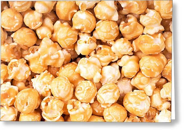 Toffee Popcorn Greeting Card by Jane Rix