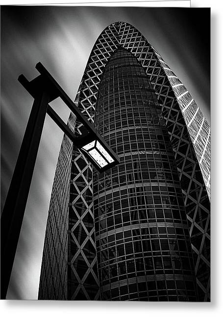 Tokyo Building Greeting Card