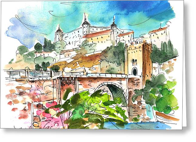 Toledo 01 Greeting Card