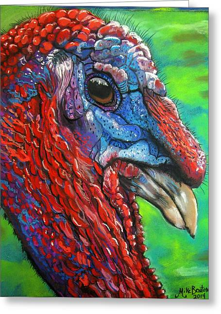 Tom Turkey Greeting Card