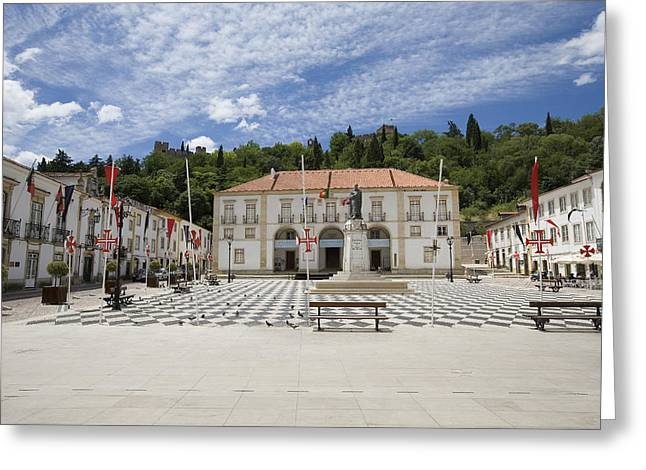 Tomar Portugal Greeting Card by Jim  Wallace