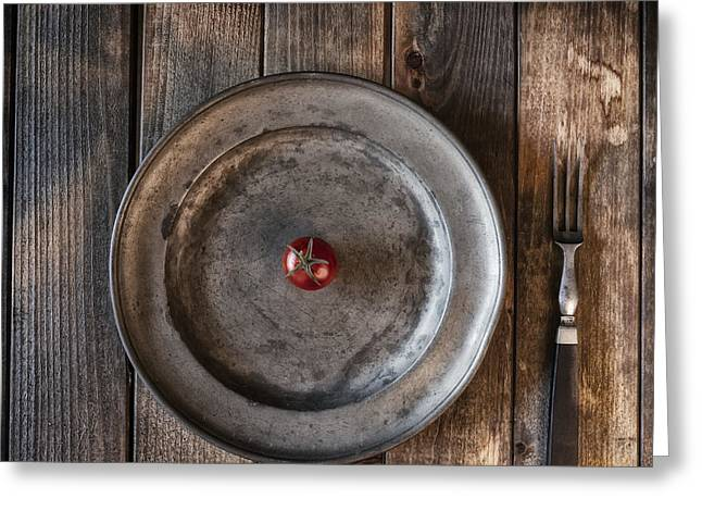Tomato Greeting Card by Joana Kruse