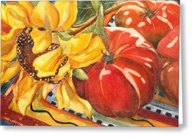 Tomatoes II Greeting Card