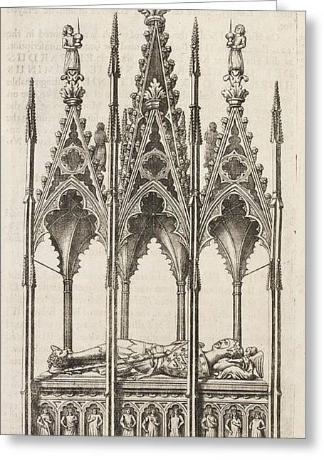 Tomb Of A King Of England Greeting Card by British Library