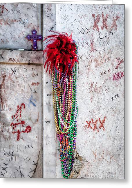 Tomb Of Marie Laveau New Orleans Greeting Card