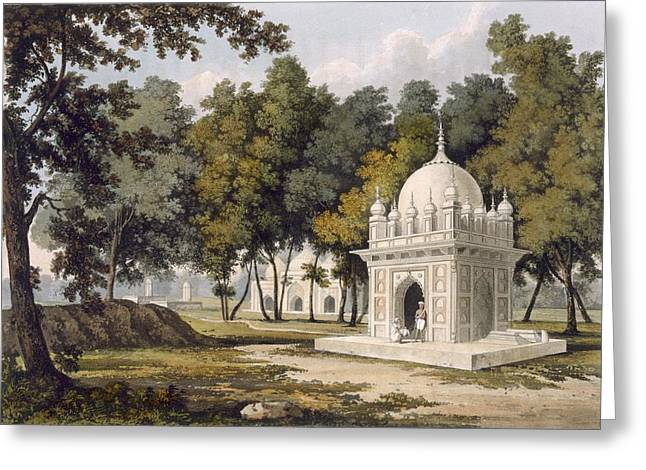 Tombs Near Etaya, From A Picturesque Greeting Card by Charles Ramus Forrest