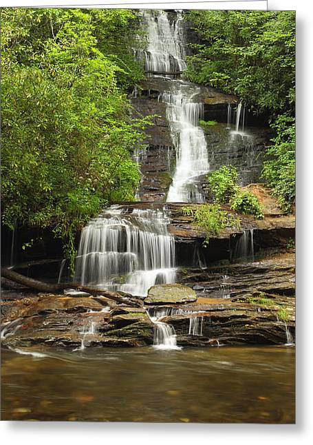 Toms Branch Falls Greeting Card
