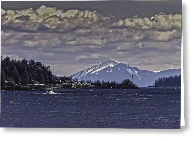 Tongass Narrows 012 Greeting Card