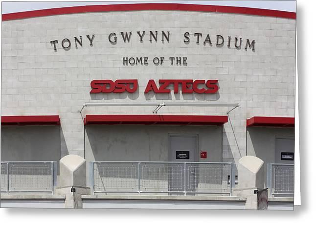 Tony Gwynn Stadium Sdsu Greeting Card