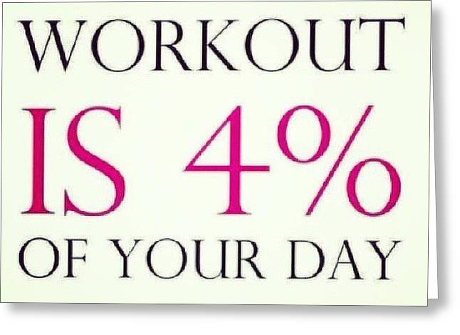 Too True #keepfit #exercise #fitness Greeting Card