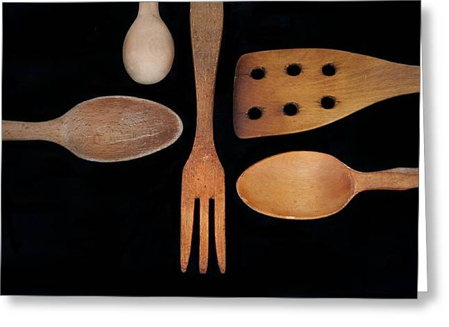Tools Of The Trade Greeting Card by Beth Achenbach