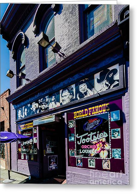 Tootsies Nashville Tennessee Greeting Card by Danny Hooks