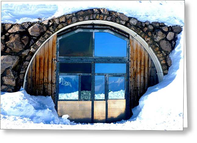 Top Of Germany Reflection Greeting Card by The Creative Minds Art and Photography