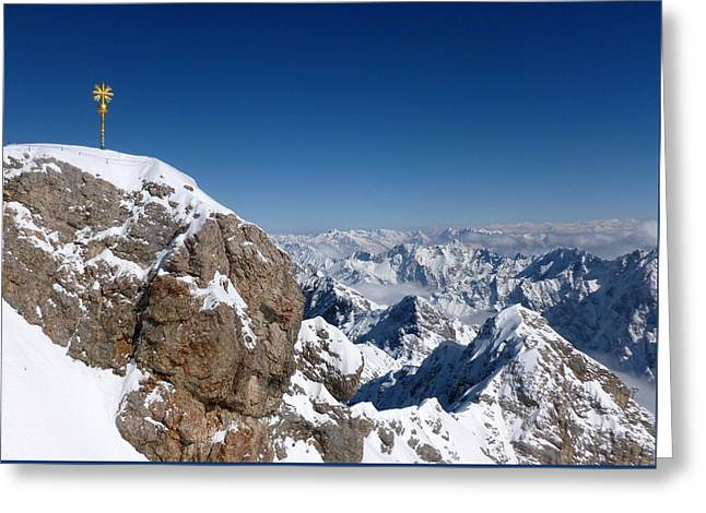 Top Of Germany  Greeting Card by The Creative Minds Art and Photography