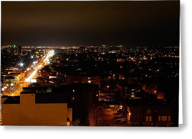 Top Of Kingston Series 002 Greeting Card by Paul Wash