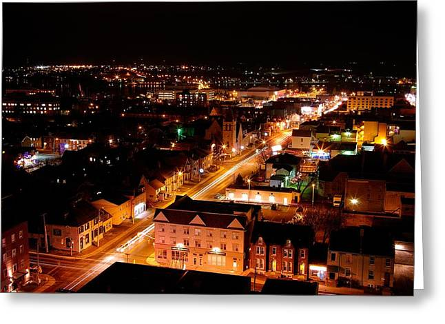 Top Of Kingston Series 003 Greeting Card by Paul Wash
