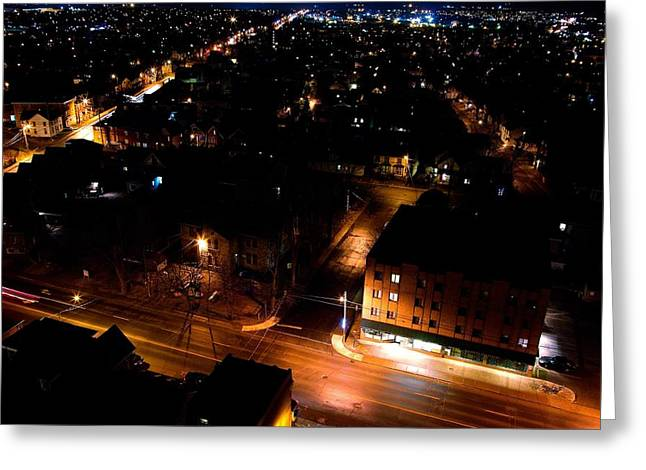 Top Of Kingston Series 005 Greeting Card by Paul Wash